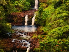 Hawaiian Waterfalls