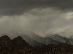 Approaching Storm in the Alabama Hills