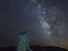 Milky Way and Tufas