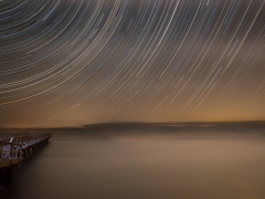 Star Trails at Lifeboat Station