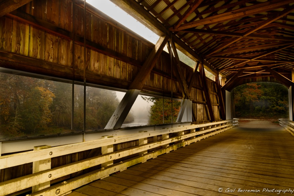 Over the River and Through the Bridge: Wild Cat Covered Bridge, Lake County, Oregon