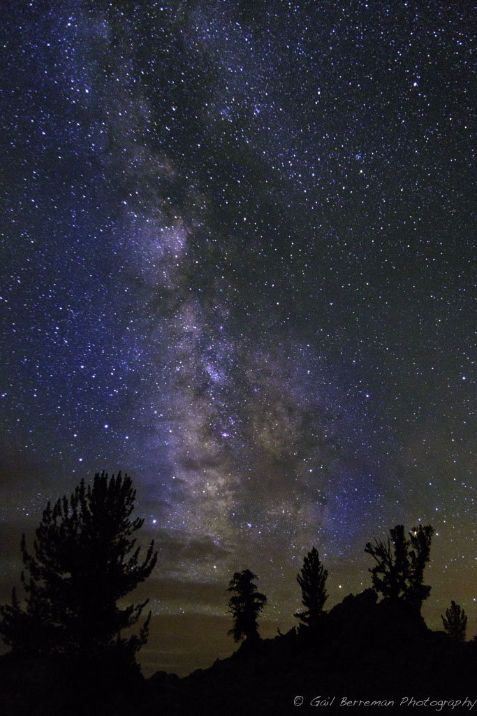 Milky Way Above the White Mountains