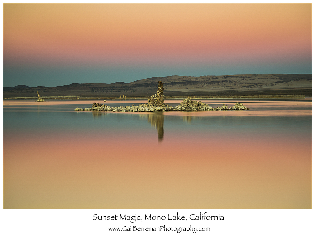 Sunset Magic, Mono Lake