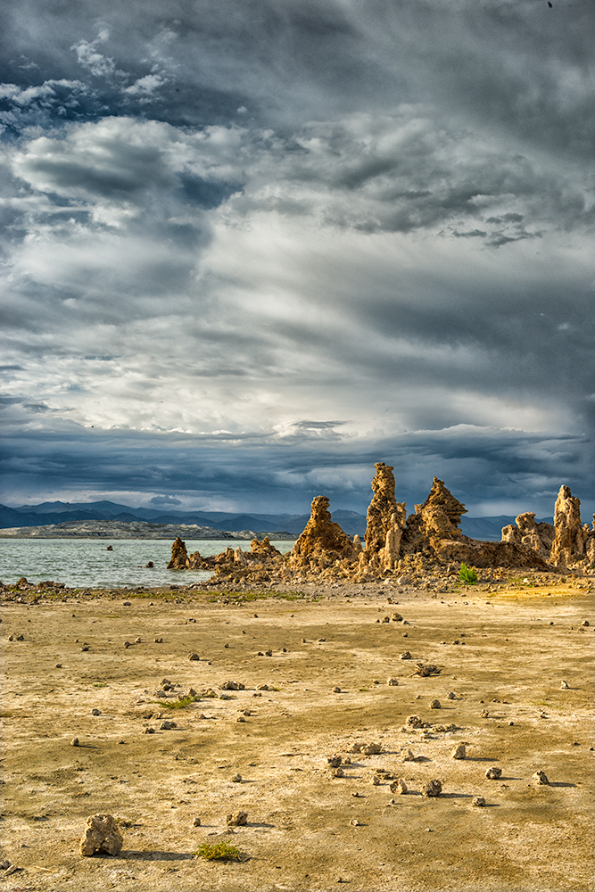 Mono Lake, Tufas and Clouds